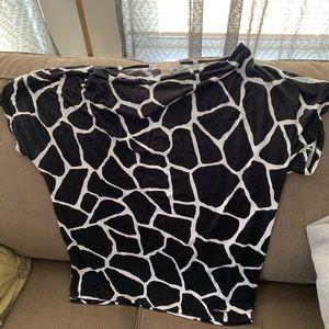 MICHAEL Michael Kors Tops - Michael Kors black and white top